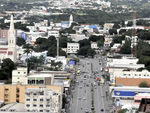 Avenida Tenente Coronel Duarte - Prainha - em Cuiabá (Foto: G1)