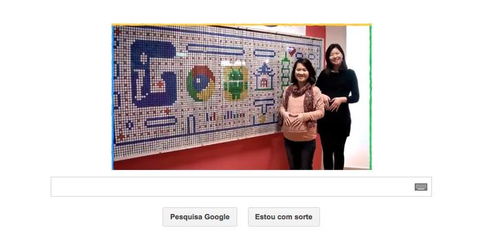 Google celebra Dia Internacional da Mulher em novo Doodle com vídeo (Foto: Reprodução/Google)