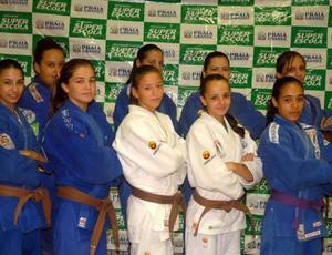 Equipe de judô feminino, em Praia Grande (Foto: Divulgação / Prefeitura Municipal de Praia Grande)