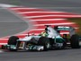 Nico Rosberg voa para fazer melhor tempo do ano e superar Hamilton    