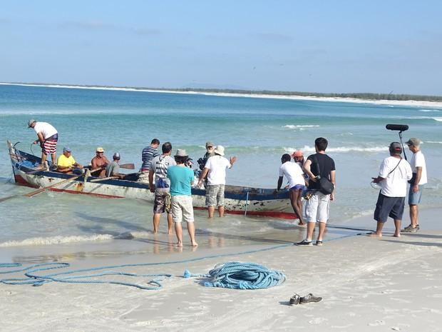 Filme vai contar com a participação de pescadores locais (Foto: Divulgação / Alessandra Rezende)