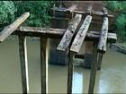 Prefeitura derruba ponte que dava acesso a povoado em Araguaína