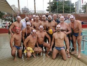 Equipe de polo aquático do Internacional de Regatas 2016 (Foto: Juliana Molinari / Divulgação Internacional de Regatas)