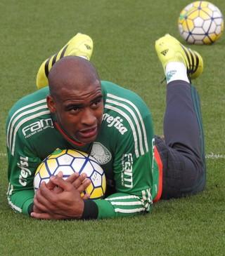 Jaílson treino Palmeiras (Foto: Rodrigo Faber)