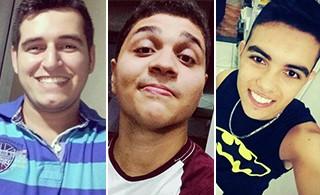Três jovens morreram em acidente no espírito santo (Foto: Arquivo Pessoal)