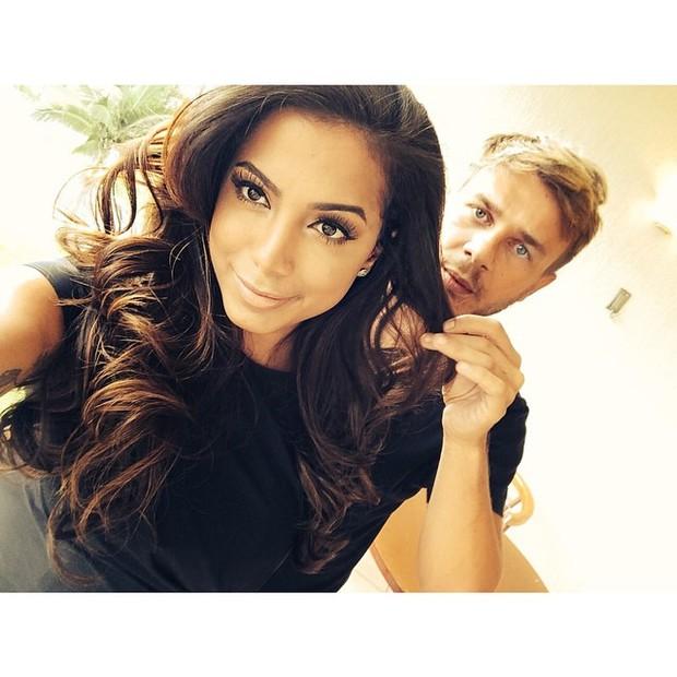 Anitta e Thiago Fortes (Foto: Reprodução/Instagram)