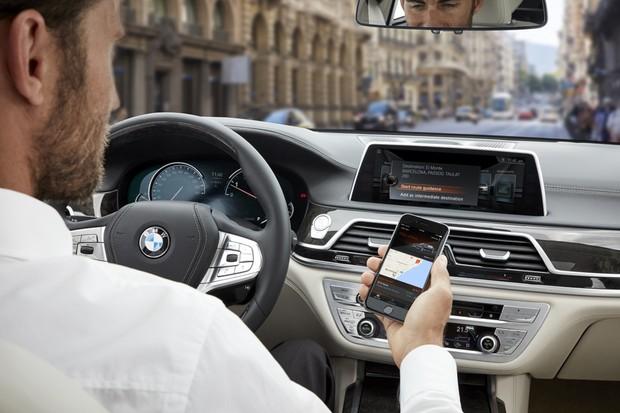 BMW Conected (Foto: Divulgação)