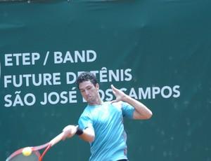 Caio Silva é um dos finalistas do Future de Tênis (Foto: Divulgação)