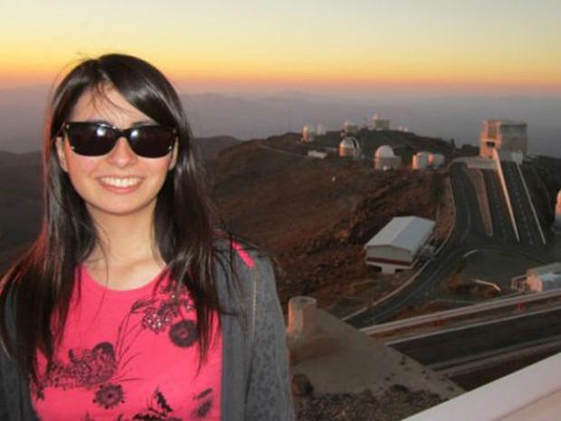A chilena Maritza Soto diz que não esperava fazer uma descoberta notável tão cedo (Foto: Maritza Soto)