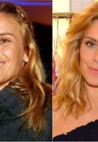 Carolina Dieckmann aparece com o cabelo mais curto em evento de moda