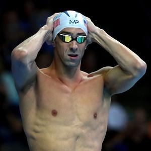 Phelps no trials de natação dos EUA (Foto: Phelps no trials de natação dos EUA)