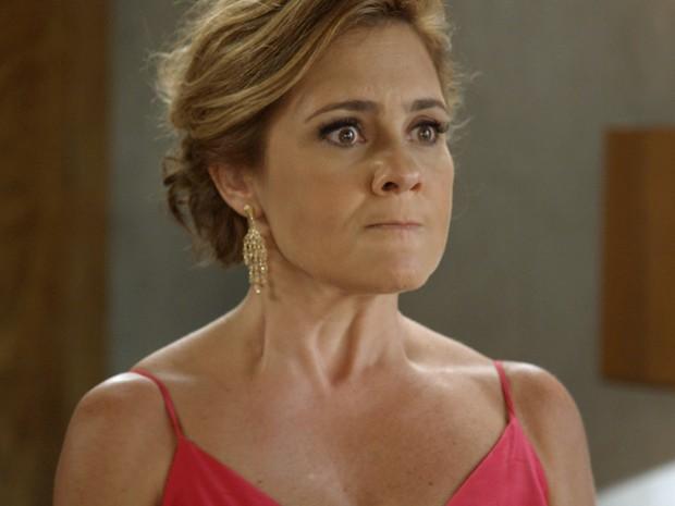 A advogada declara que Evandro a escolheu para receber o prêmio (Foto: TV Globo)