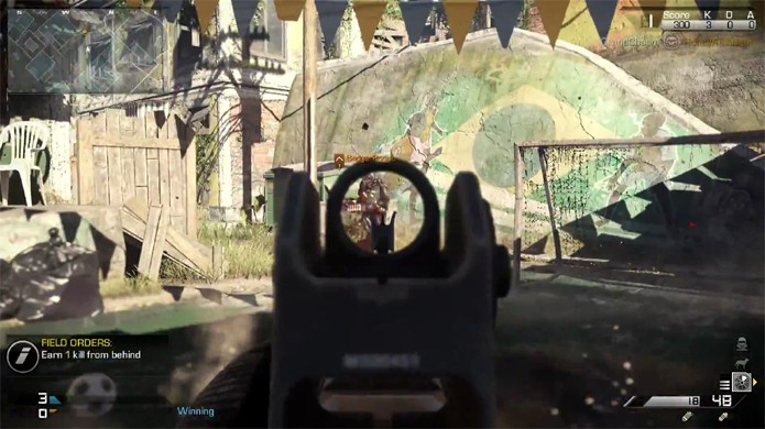DLC Invasion traz os Ghosts de Call of Duty de volta para o Brasil (Foto: Reprodução: YouTube)
