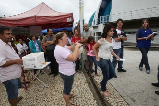 Abstenção alta de 13,8% marca primeira fase de vestibular da UFG, em Goiás (Foto: Zuhair Mohamad/O Popular)