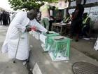 Primeiros resultados de eleição na Nigéria saem na segunda-feira