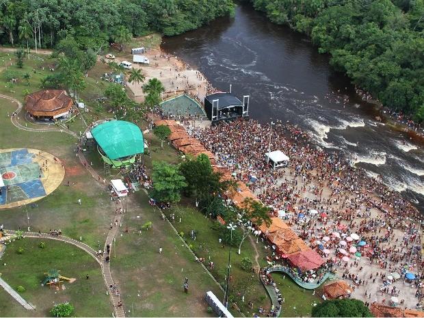 Prefeitura espera publico de 200 mil pessoas em Presidente Figueiredo (Foto: Divulgação/Prefeitura de Presidente Figueiredo)