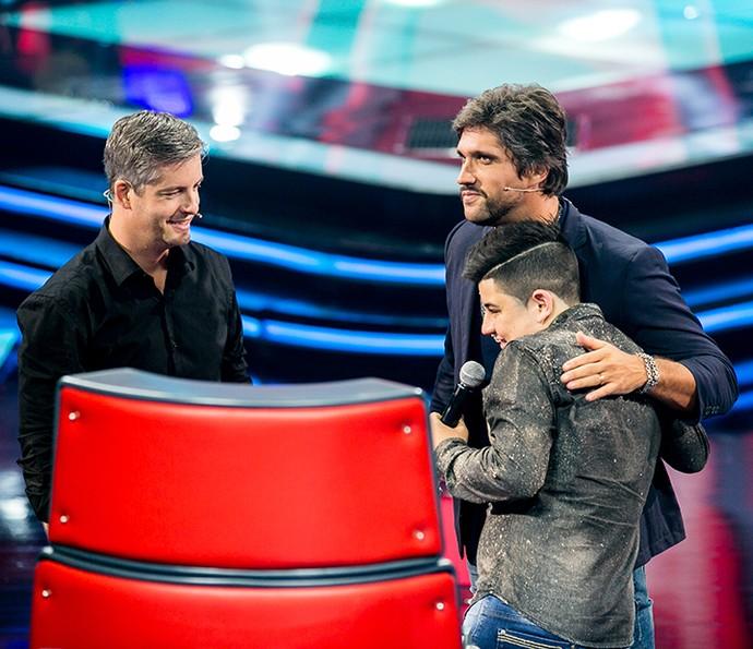 João Vitor é do Time Victor & Leo (Foto: Isabella Pinheiro/Gshow)