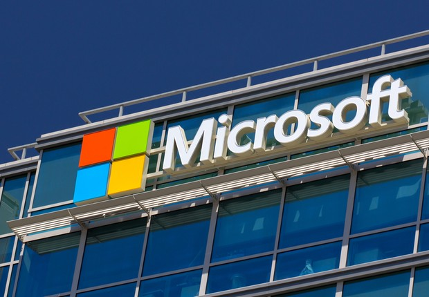 Unidade da Microsoft nos EUA (Foto: Shutterstock)