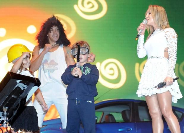 Claudia Leitte (Foto: Francisco Cepeda e Leo Franco / AgNews)