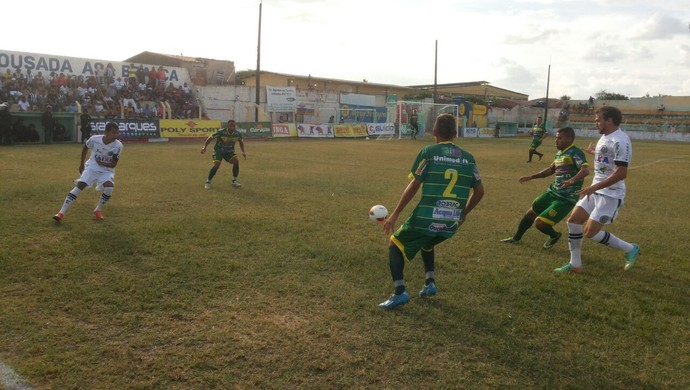 Ipanema e ASA duelam no Arnon de Mello (Foto: Jânio Barbosa / Arquivo pessoal)