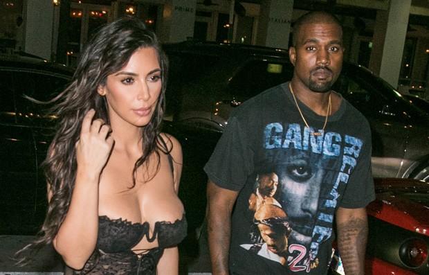 Kim Kardashian e Kanye West (Foto: BG013/Bauer-Griffin/GC Images)