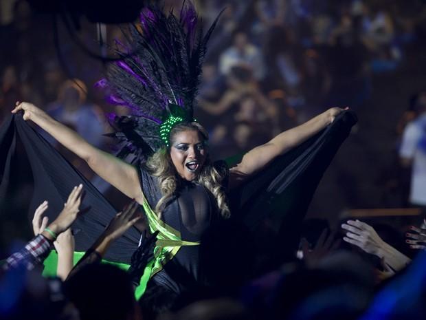 Gaby Amarantos no VMB 2012 (Foto: Marcos Issa/Argosfoto)