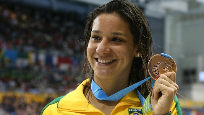 Joanna Maranhão, natação, bronze, Pan de Toronto (Foto: Satiro Sodre/SSPress)