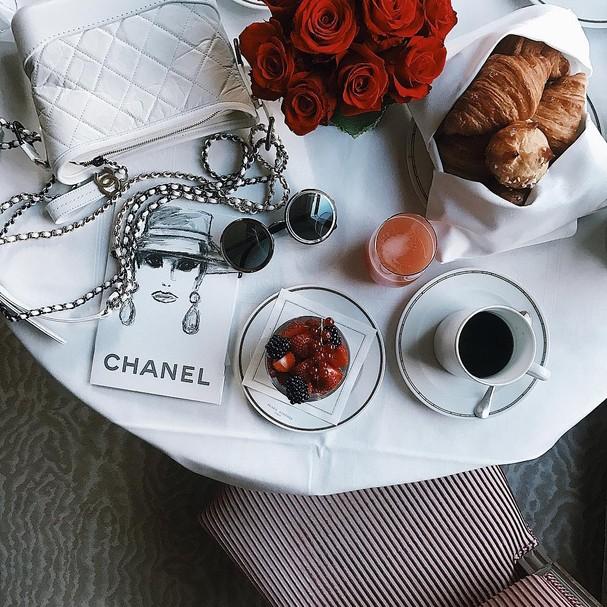 Cafezinho e sobremesa (Foto: Instagram/Reprodução)