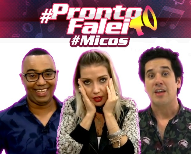 #ProntoFalei_micos (Foto: The Voice Brasil / Gshow)