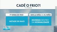 Previsão é de chuva para Capital e Vale do Paraíba nesta quinta (26)