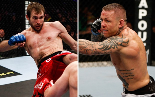 Ryan Couture x Ross Pearson ufc mma (Foto: Getty Images)