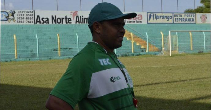 O técnico Neto Costa vai comandar o Tocantinópolis na Copa Verde (Foto: Divulgação)