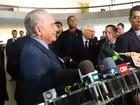 Temer diz que reunião no Itamaraty teve 'clima de harmonia absoluta'