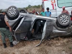 Acidente em Terezinha (Foto: Divulgação/Polícia Civil)
