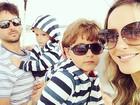 Claudia Leitte quer aumentar a família: 'Penso em ter quatro filhos'