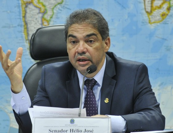 O deputado Hélio José (PMDB-DF) (Foto: Agência Senado)
