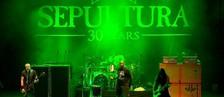 Banda 'Sepultura' é entrevistada por Marcão (Reprodução / TV TEM)