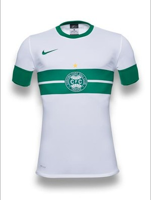 camisa coritiba novo uniforme (Foto: Divulgação/site oficial do Coritiba Foot Ball Club)