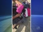 Mulher é detida com droga escondida em mala e garrafa térmica