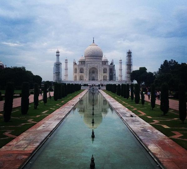 Taj Mahal, na Índia: para ministro do Turismo, mulheres devem evitar usar saia e vestido curto no país (Foto: Reprodução/Instagram)