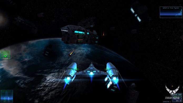 Os combates podem ser situados no espaço e nas atmosferas (Foto: Divulgação)