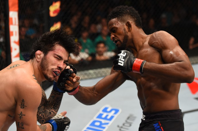 Neil Magny Erick Silva UFC MMA (Foto: Getty Images)