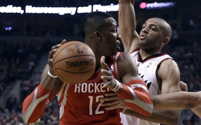 Dwight Howard, Rockets x Blazers - AP (Foto: AP)
