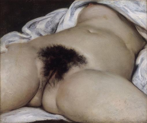 L'Origine du Monde, de Gustave Courbet (Foto: Wikimedia Commons)