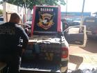 Homem é preso em MS com 690 kg de maconha em carro roubado