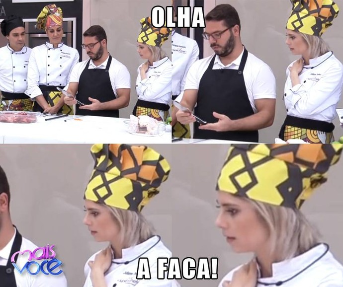 Olha a carinha da Julliane Trevisol! (Foto: TV Globo/Gshow)