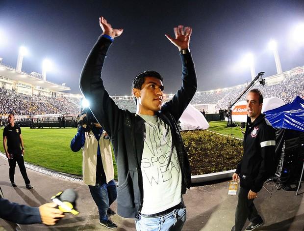 Paulinho, Corinthians x São Paulo - final Recopa (Foto: Marcos Ribolli)