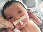 Jéssica Costa fala sobre alta do filho:  'Ponto final em toda angústia'