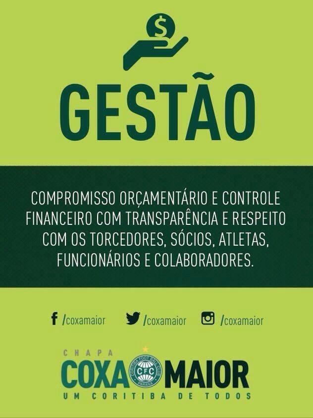 Blog Torcida Coritiba - orçamento Coxa Maior