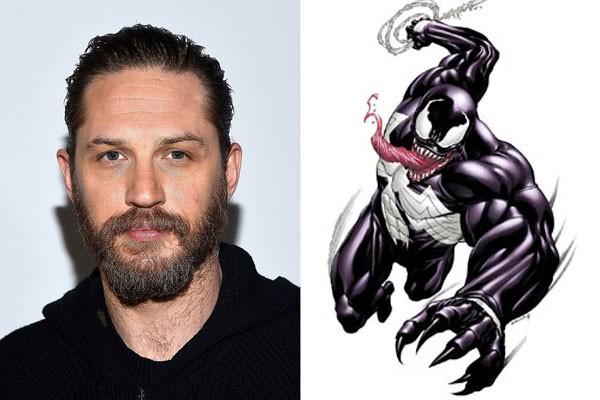 Tom Hardy será vilão Venom no cinema (Foto: Getty e divulgação)